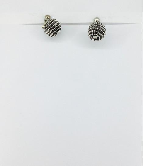 boucles d'oreilles clips petites métal