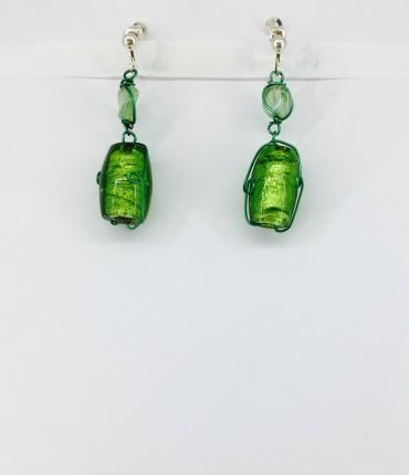 Boucles d'oreilles clips cristal M35
