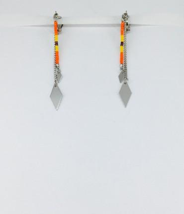 Boucles d'oreilles clips ethniques M61