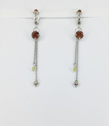 Boucles d'oreilles clips G33