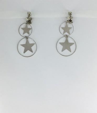 boucles d'oreilles clips M55