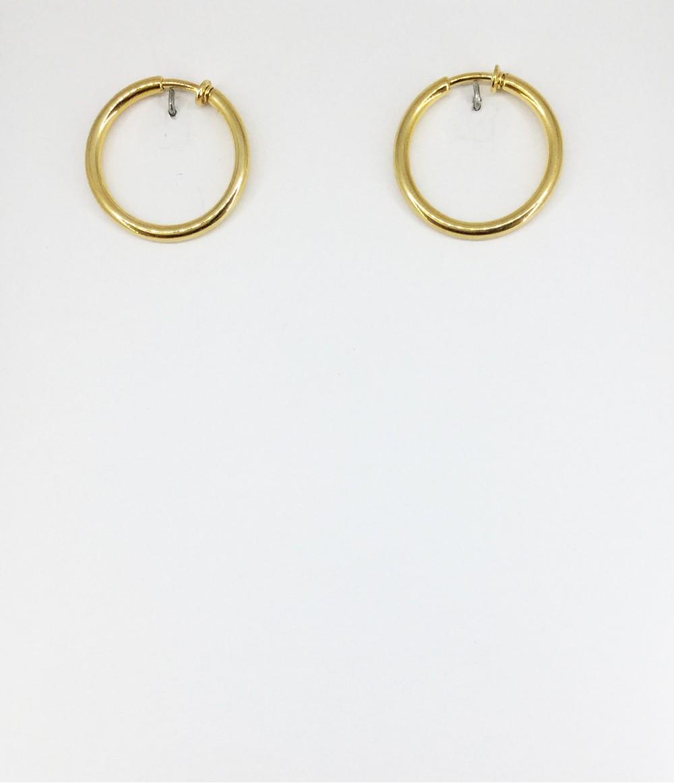 design intemporel edf00 7c520 boucles d'oreilles créoles ressort